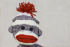 Sock Monkey Layout Royalty Free Stock Photos