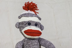 Sock Monkey Layout Stock Image