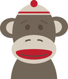 Sock Monkey Royalty Free Stock Photo