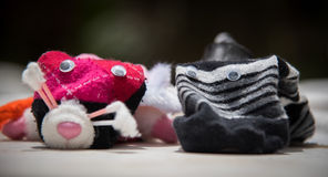 Sock puppet Royalty Free Stock Image