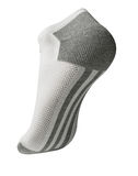 Sock underside. The rear of a sock on the foot in action Stock Photography