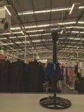 Sockelfan im Kaufhaus Stockfoto