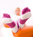 Socken stockbilder