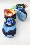 Socken im Schuh Lizenzfreie Stockfotografie