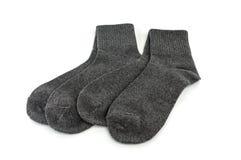 Socken lokalisiert auf einem weißen Hintergrund Lizenzfreies Stockfoto
