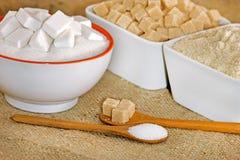 Socker Arkivfoto