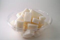 socker för 2 bunke Arkivfoton