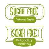 Socker frigör design Royaltyfri Bild
