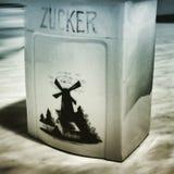 socker Konstnärlig blick i duotonestil Royaltyfri Fotografi