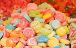 Socker multycolored godisar Royaltyfria Foton
