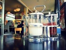 Socker & peppar Fotografering för Bildbyråer
