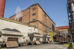 Socker-raffinaderi Arkivfoto