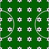 Socker seamless pattern background. Vector illustration of socker seamless pattern background Stock Photo