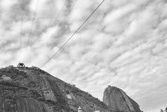 Socker släntrar, Rio de Janeiro Royaltyfri Fotografi