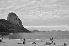 Socker släntrar, Rio de Janeiro Royaltyfri Bild