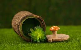 Sockerbunke i form av hampa Fotografering för Bildbyråer