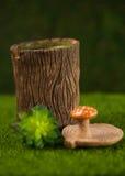Sockerbunke i form av hampa Royaltyfri Fotografi