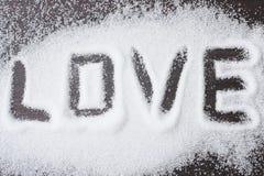 Sockerförälskelse Fotografering för Bildbyråer