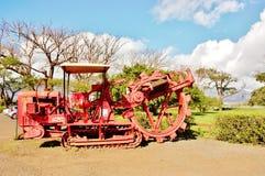 Sockermuseum på den maui hawaii staten Arkivbilder