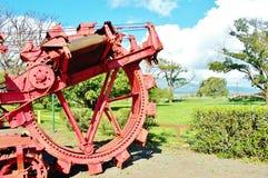 Sockermuseum på den maui hawaii staten Arkivfoto