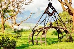 Sockermuseum på den maui hawaii staten Royaltyfri Fotografi