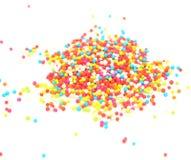 Sockerpärlor Arkivbild