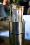 Sockerpåsar Fotografering för Bildbyråer