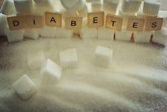 Sockersjuka arkivbilder