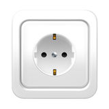 Socket. Object on white background Stock Photography