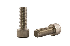 Socket cap screw. Royalty Free Stock Photography