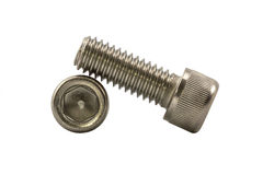 Socket cap screw. Royalty Free Stock Images