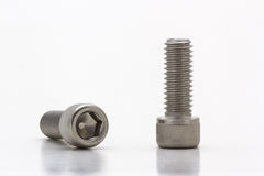Socket cap screw. Royalty Free Stock Image