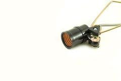 Socket de lámpara Fotos de archivo