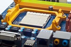 Socket de la CPU Fotos de archivo