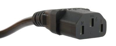 Socket de potencia Imagenes de archivo