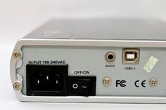 Socket de potencia Imagen de archivo libre de regalías