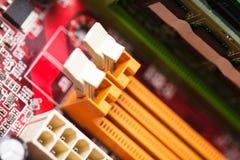 Socket del RAM Fotos de archivo