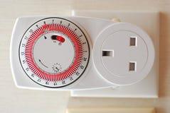 Socket del temporizador Fotografía de archivo