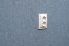 Socket eléctrico Imagen de archivo libre de regalías