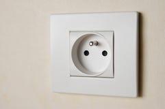 Socket eléctrico Fotos de archivo libres de regalías