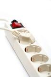 Socket eléctrico y enchufe Imágenes de archivo libres de regalías