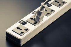 Socket and plug Royalty Free Stock Image