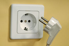 Socket and plug Stock Images