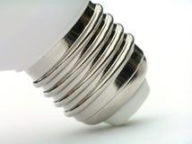 Socket of power saving light bulb royalty free stock photo