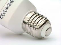 Socket of power saving light bulb royalty free stock photography