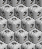 Socket seamless texture Stock Photo