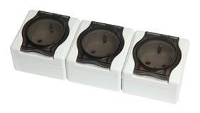 Socket set isolated on white background royalty free stock images