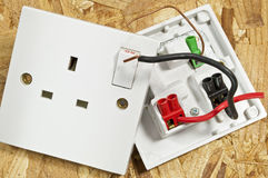 Socket Switch opened Royalty Free Stock Photo