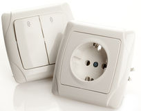 Socket and Switch Stock Photography