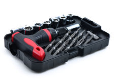 Socket toolbox Royalty Free Stock Image